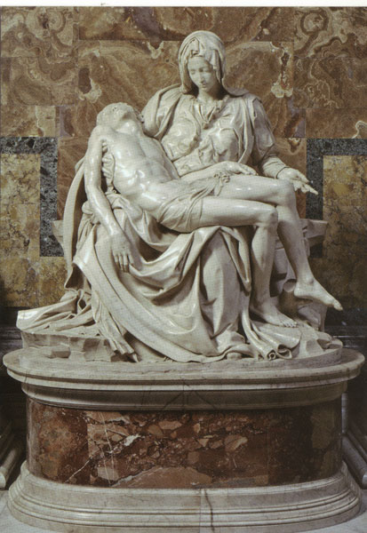 Michel Ange Pieta 1500