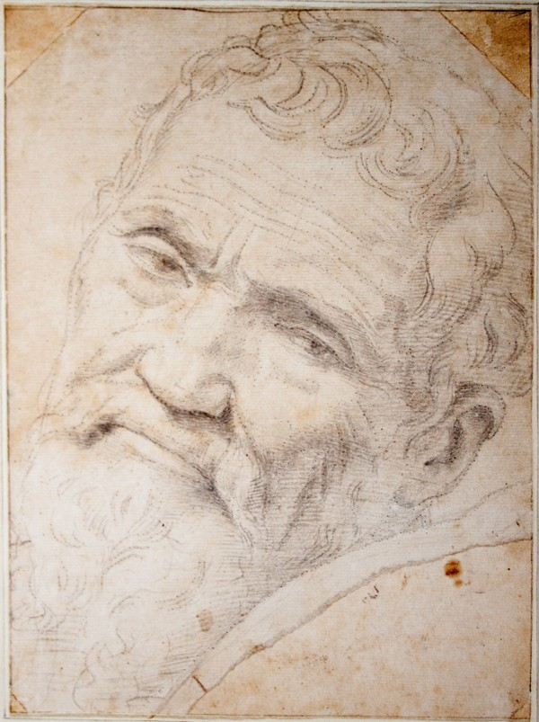 Daniele Da Volterra Portrait De Michel Ange